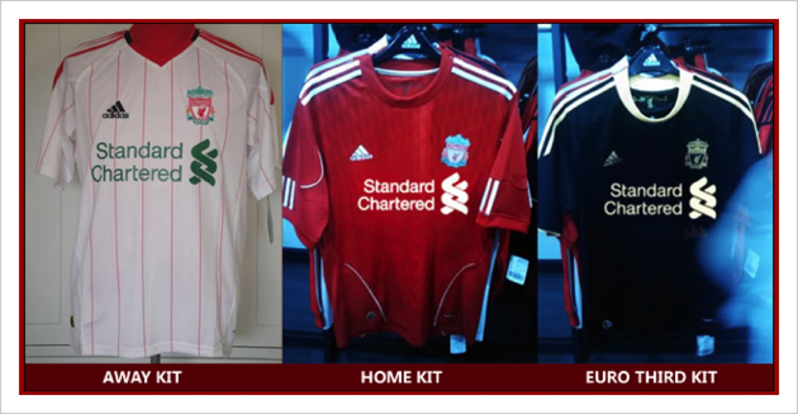 4bad960e463 The Latest Leaked Photos of Liverpool FC s New 2010 – 2011 Home ...
