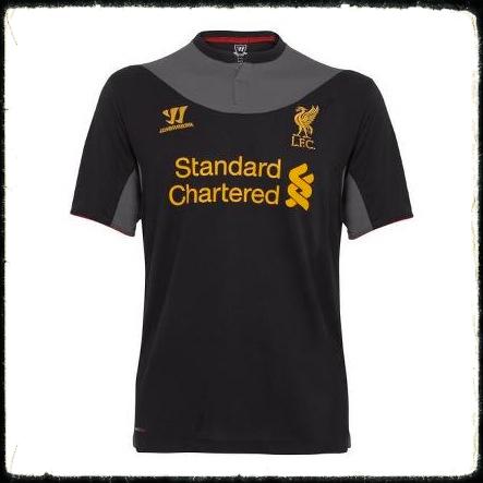 bea415f5d New Liverpool FC Warrior Away Kit 2012 -2013
