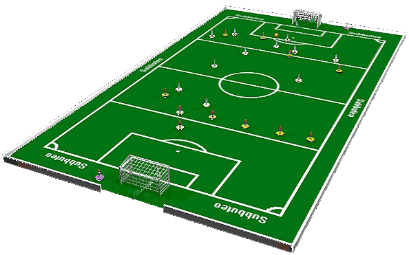 Lfc personalised subbuteo with thanks to kitster29 lfc for Juego de mesa de futbol