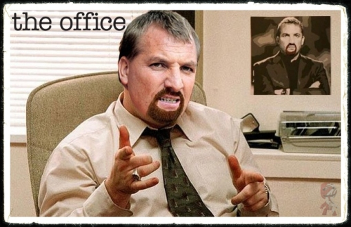The Office Brendan Rodgers David Brent