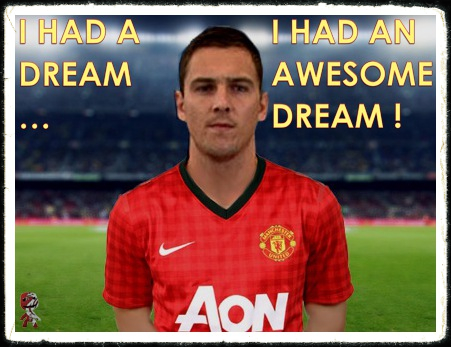 Stewart Downing Manc Dream Manchester United transfer
