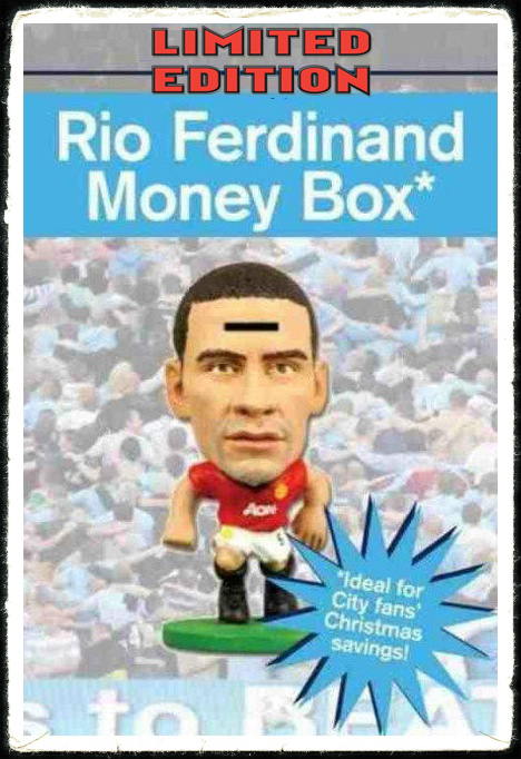 Rio Ferdinand Money Box Coin