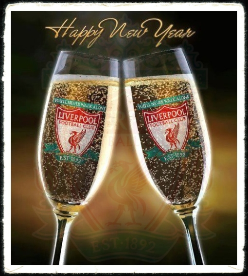 Happy LFC New Year Liverpool FC 2013