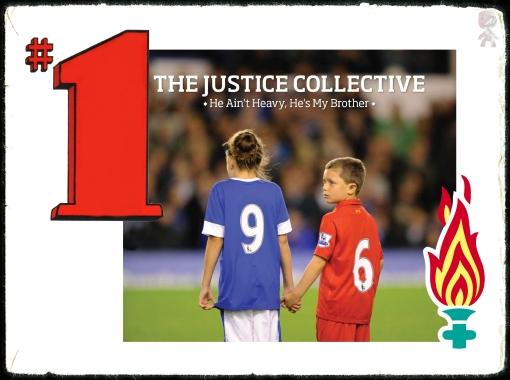 The Justice Collective Britain's Christmas Number One  No. 1