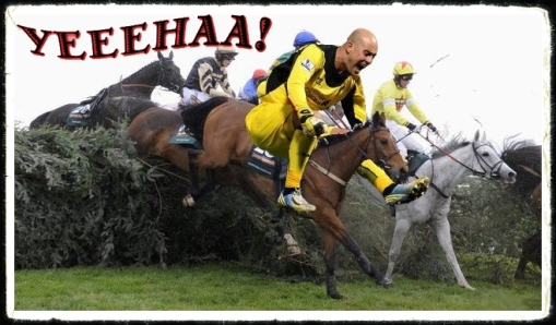 Pepe Reina Liverpool Horse Riding Grand National