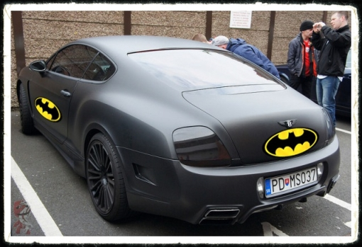 Martin Skrtel Batmobile Bentley Car Dark Knight Batman