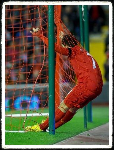 Suarez In Net Liverpool Southampton
