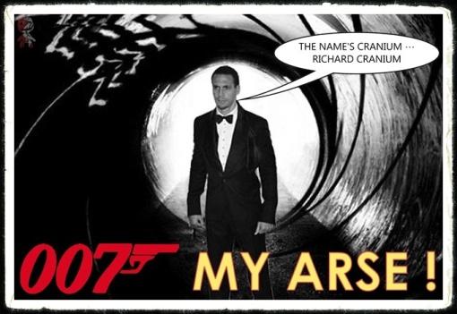 Rio Ferdinand 007 James Bond