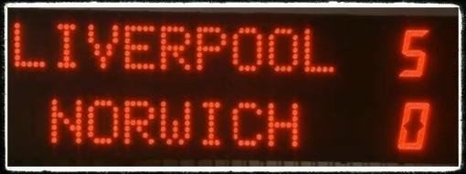 Liverpool 5-0 Norwich