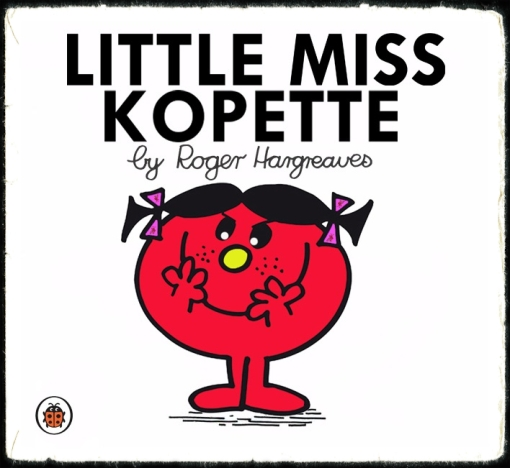 Little Miss Kopette Liverpool FC Mr. Men book