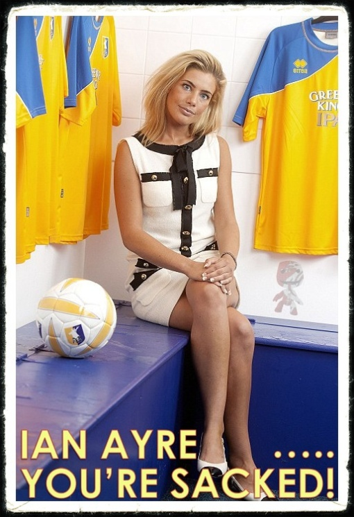 Carolyn Still MAnsfield Town CEO Liverpool Ian Ayre Sacked