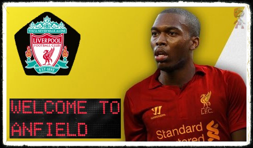 Daniel Sturridge Signs Welcome To Anfield
