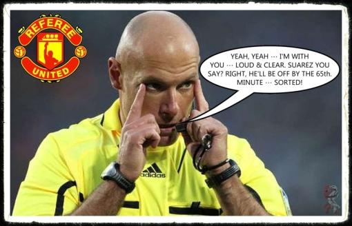 Howard Webb Manchester Utd Liverpool Cheat