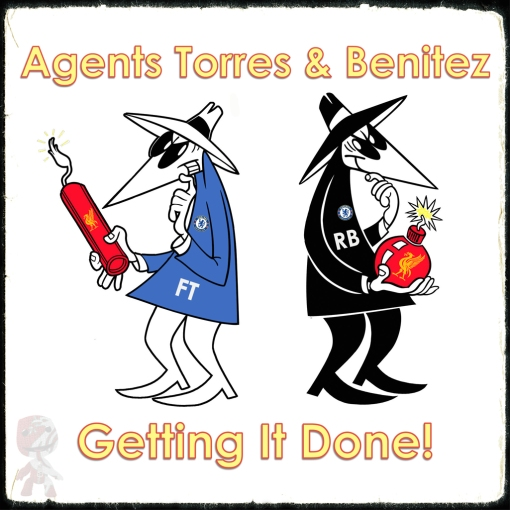 Double Agents Benitez Torres Liverpool Chelsea Spy Spies