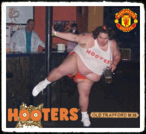 Hooters Old Trafford Manchester Utd open for businees