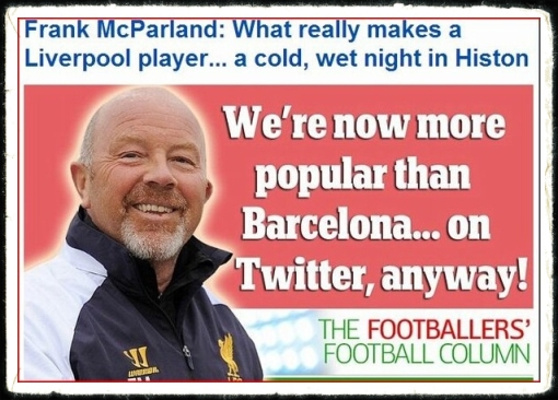 LFC Twitter no.1 Liverpool FC most popuklar number one twitter football team