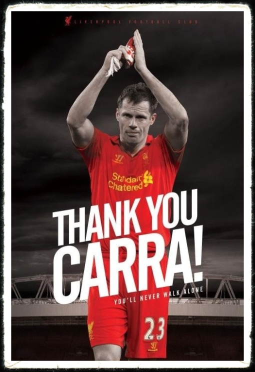 Thank You Carra Jamie Carragher Retires Rertirement LFC Liverpool FC