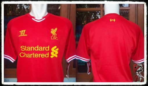 2013-14 Home Shirt Liverpool FC Warrior Red