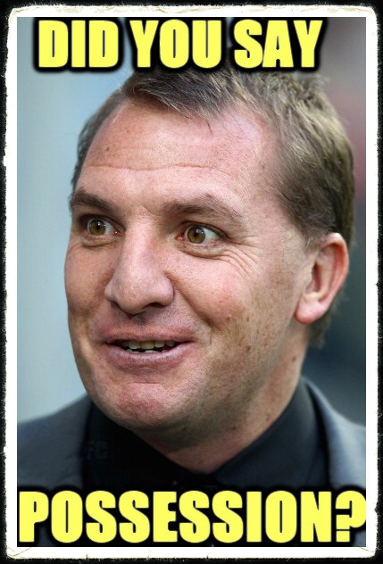 Brendan Rodgers Possession Liverpool FC