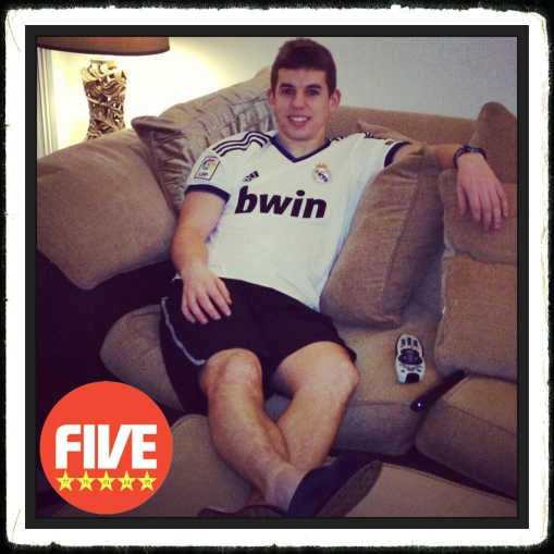Jon Flanagan Real Madrid shirt Champions League