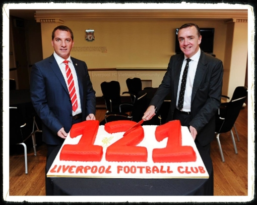 Liverpool FC 121 Birthday My Bird's 121