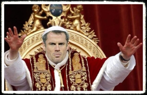 New Pope Carra Jamie Carragher