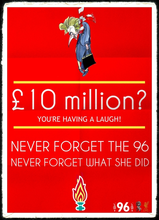 £10 Million Thatcher Funeral JFT96 Hillsborough Justice Margaret Thatcher funeral