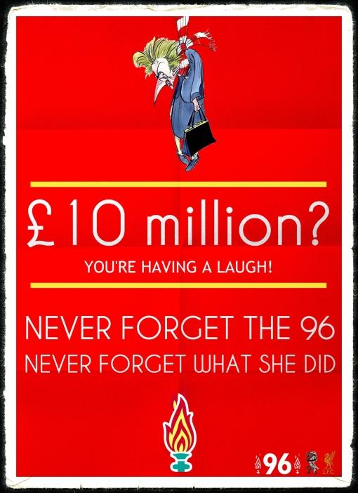 £10 Million Thatcher Funeral JFT96 Hillsborough Justice Margaret Thatcher funeral