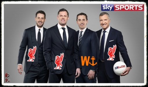 Carra Sky Sports Jamie Carragher pundit Neville