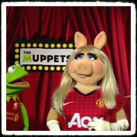 Manc Manchester United Utd Muppet Miss Piggy