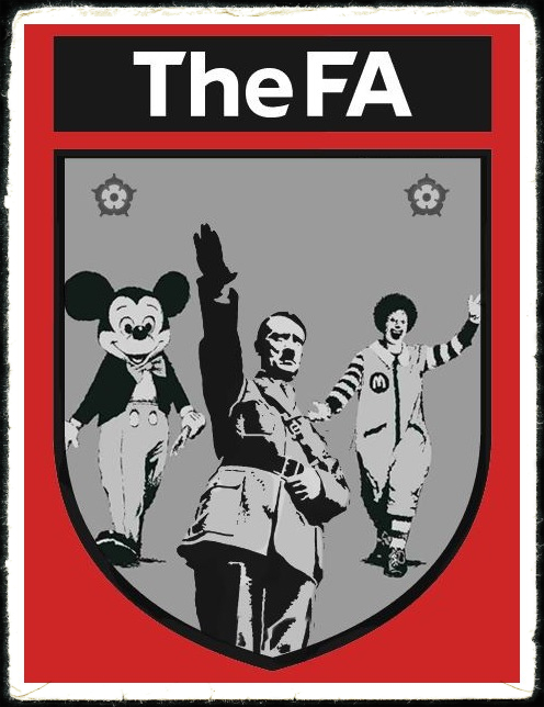 Mickey Mouse FA The FA Football Association