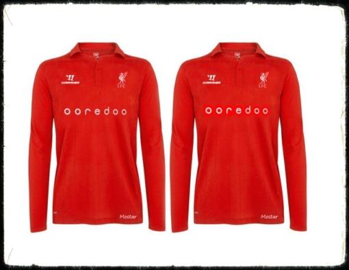 ooredoo Shirt Sponsorship Liverpool FC Anfield Qatar