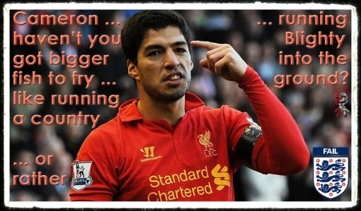 Luis Suarez 10 GAme Ban David Cameron Independent FA Committee