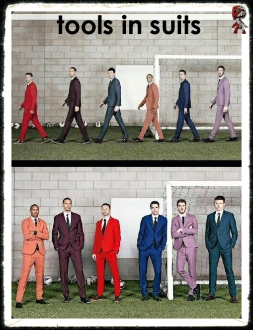 Tools In Suits Manchester United Utd