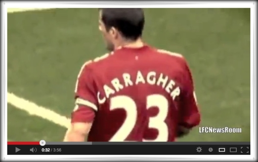 Video You Tube Jamie Carragher Last Game Tribute Carra - This Is The End