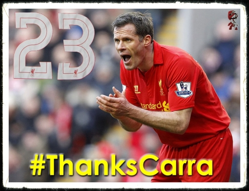 #ThankYouCarra James lee Duncan Carragher Jamie Retires