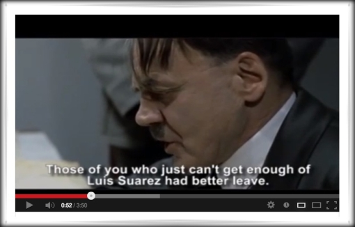 Hitler Suarez Real Madrid video