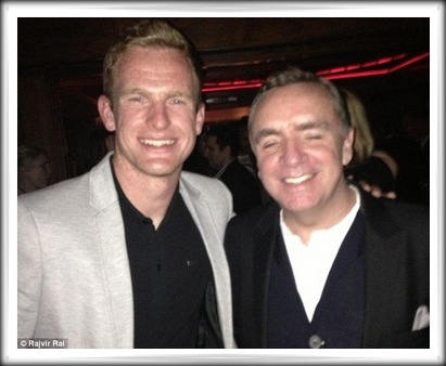 Ian Ayre with Alex Pearce