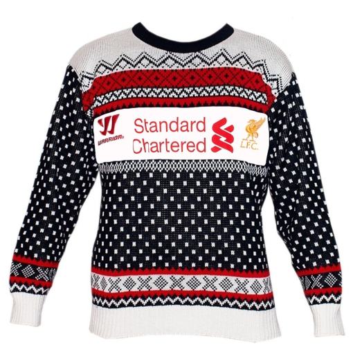 LFC New Away Shirt Kit 2013 2014 Christmas Away Jumper Sweater