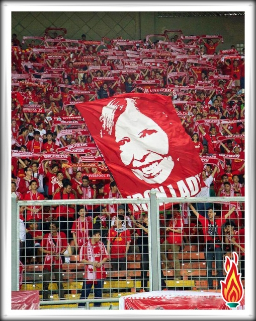 Anne Williams The Real Iron Lady Banner Flag Kop Indonesia Indonesian Reds