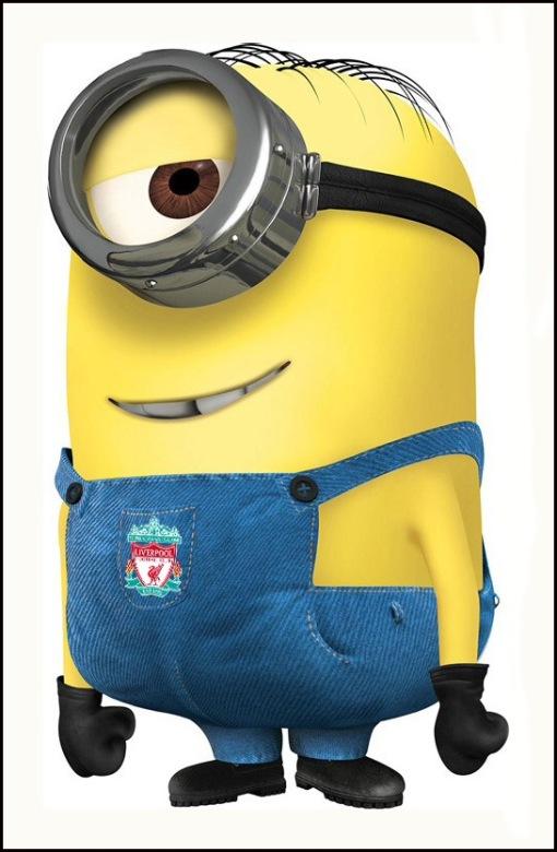 LFC Liverpool FC Minion Despicable Me