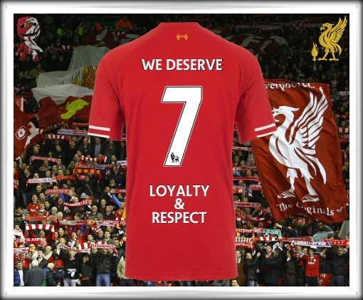 Luis Suarez Liverpool FC 7 Ingrate Judas Loyalty Respect Kop fans club