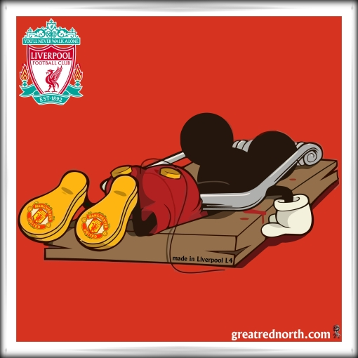 Mickey Mouse Trap Manc Mouse Dead  Man Utd. Manchester United