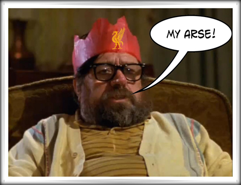 My Arse!  Ricky Tomlinson Royle Family Suarez Liverpool FC