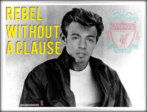 Rebel Without A Clause Luis Suarez James Dean