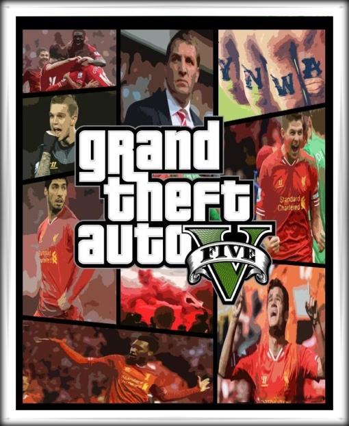 Liverpool FC GTA V Grand Theft Auto