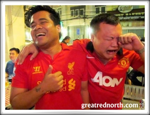 Weeping Crying Man Utd Manchester United Fan