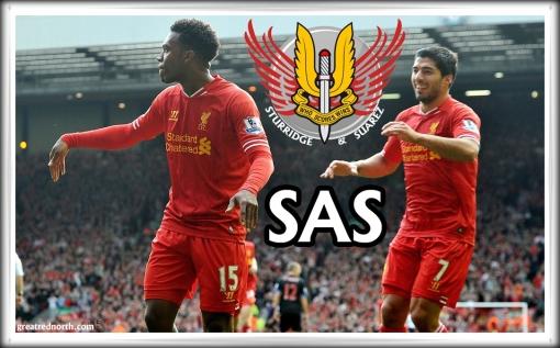 Liverpool FC Sturridge Suarez SAS