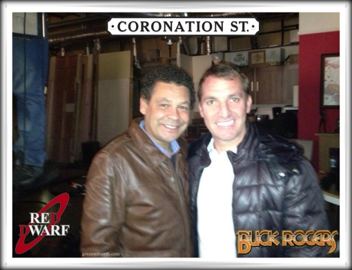 Craig Charles Lister Brendan Rodgers Buck Rogers Coronation Street