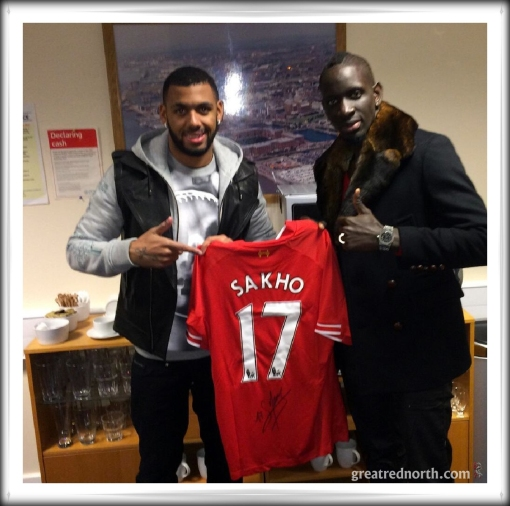 Sakho and M'Vila after Everton derby Liverpool